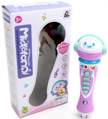 Купить Интерактивная игрушка Наша Игрушка CY-7017C от 3 лет, разноцветный, 23 см, пластик, для девочки, Игрушки со звуком