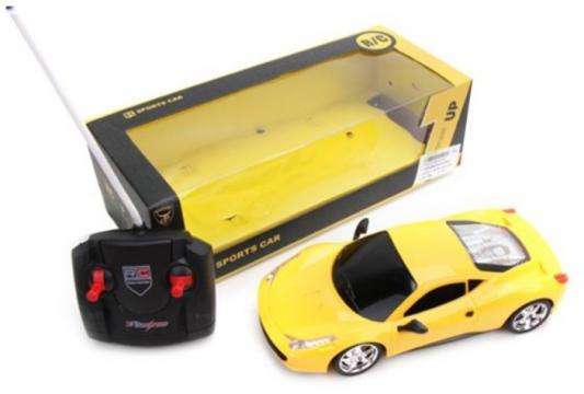 Машинка на радиоуправлении Наша Игрушка пластмасса от 3 лет желтый цена в Москве и Питере