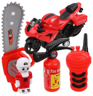 Игровой набор Наша Игрушка Пожарный 5 предметов