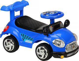 Каталка-машинка Наша Игрушка Трасса синий пластмасса/металл stellar игрушка каталка машинка цвет синий