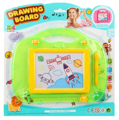 Доска для рисования Наша Игрушка цветная