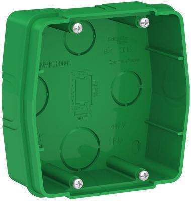 Коробка SCHNEIDER ELECTRIC BLNMK000001 монтажная сп blanca для силовых розеток зел.
