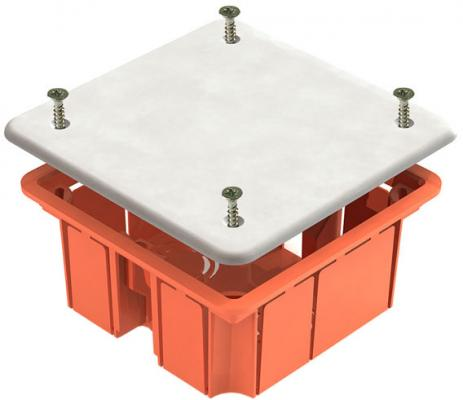 Коробка распаячная ТДМ SQ1403-1022 92х92х45мм крышка пл. лапки IP20 коробка распаячная тдм sq1402 1008 120х92х45мм крышка ip20
