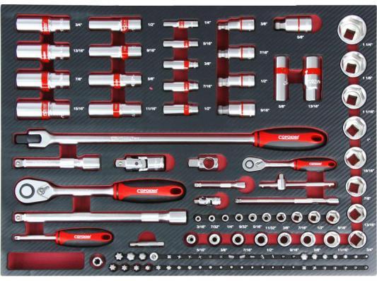 цена на Набор инструментов СОРОКИН 1.208 в ложементе 108 предметов