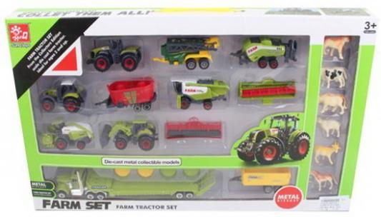 Фото - Игр.набор Ферма, техника 10шт., фигурки 6шт., аксессуары для трактора 2шт., аксессуары 4шт., коробка аксессуары для кендо 11000 hakama