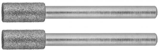 Набор шарошек ЗУБР 35920 алмазные d4.8x10.0х3.2мм L38мм 2шт.