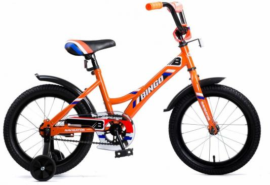 Купить Велосипед Navigator BINGO 16 оранжевый, Двухколесные велосипеды для детей