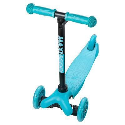 Самокат MAXISCOO Baby 120/80 мм голубой самокат top gear eco viii 200 мм голубой