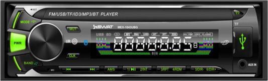 Автомагнитола Swat MEX-1043UBG 1DIN 4x50Вт автомагнитола swat mex 1224ubw 1din 4x45вт