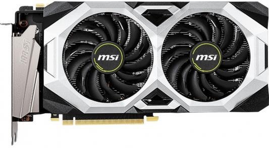 Видеокарта MSI nVidia GeForce RTX 2080 VENTUS V2 PCI-E 8192Mb GDDR6 256 Bit Retail (RTX 2080 VENTUS 8G V2) видеокарта asus geforce gtx 1070 ti turbo gtx1070ti 8g pci e 8192mb 256 bit retail turbo gtx1070ti 8g