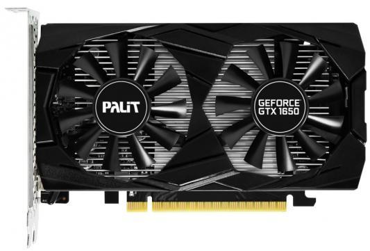 Видеокарта Palit PCI-E PA-GTX1650 DUAL OC 4G nVidia GeForce GTX 1650 4096Mb 128bit GDDR5 1485/8000/HDMIx1/DPx2/HDCP Ret видеокарта 1024mb powercolor r7 250 pci e gddr5 128bit dvi hdmi hdcp crt axr7 250 1gbd5 hv4e oc oem