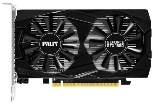 Видеокарта Palit GeForce GTX 1650 Dual PCI-E 4096Mb GDDR5 128 Bit Retail (NE5165001BG1-1171D) цена и фото
