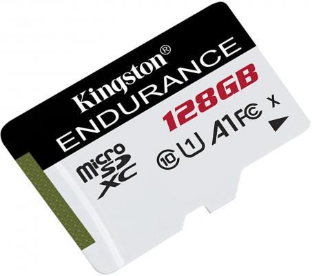Фото - Флеш карта microSDXC 128Gb Class10 Kingston SDCE/128GB High Endurance w/o adapter карта памяти kingston high endurance microsdxc 128gb class10 sdce 128gb
