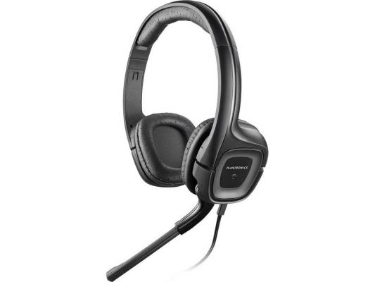 Гарнитура Plantronics A355 стерео для джек 3,5 гарнитура plantronics audio 655 usb