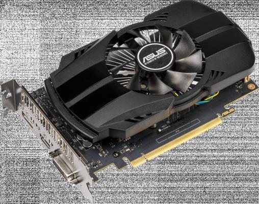 Видеокарта ASUS GeForce GTX 1650 PH-GTX1650-O4G PCI-E 4096Mb GDDR5 128 Bit Retail (90YV0CV0-M0NA00) все цены
