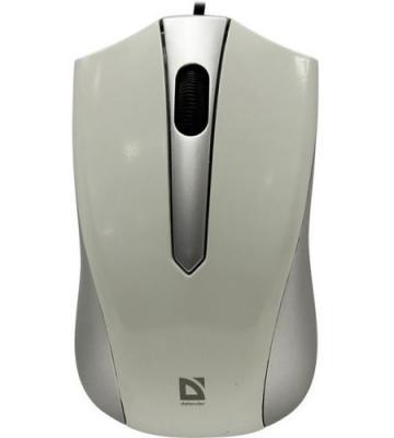 Defender Проводная оптическая мышь Accura MM-950 серый,3 кнопки,1000dpi катушка индуктивности jantzen cross coil 16 awg 1 3 mm 0 23 mh 0 15 ohm