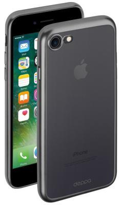 Накладка Deppa Gel Plus для iPhone 7 iPhone 8 чёрный 85283 накладка deppa chic для iphone 7 plus iphone 8 plus золотой 85300