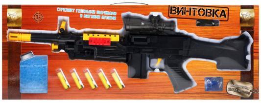 Купить ВИНТОВКА ИГРАЕМ ВМЕСТЕ СТРЕЛЯЕТ МЯГКИМИ И ГЕЛЕВЫМИ ПУЛЯМИ В РУСС. КОР. 72, 3*26, 4*6, 3СМ в кор.16шт, разноцветный, 6x72x26 см, для мальчика, Игрушечное оружие