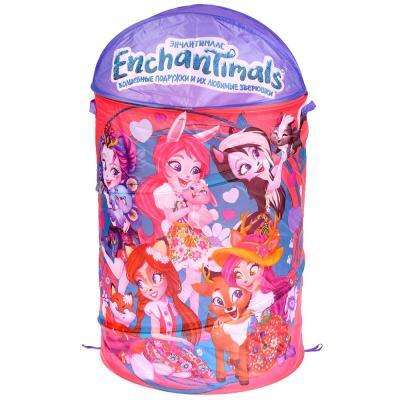 Корзина для игрушек Enchantimals 43*60см Играем вместе в пак. в кор.24шт корзина для игрушек играем вместе my little pony в пак 43 60см в кор 24шт