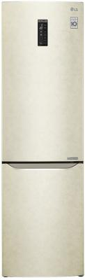 Холодильник LG GA-B499ZECZ бежевый холодильник lg gr h802hehz бежевый