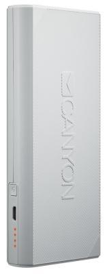 Внешний аккумулятор Power Bank 13000 мАч Canyon CNE-CPBF130W белый H2CNECPBF130W цена