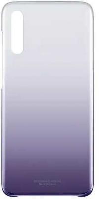 Чехол (клип-кейс) Samsung для Samsung Galaxy A70 Gradation Cover фиолетовый (EF-AA705CVEGRU) цена и фото