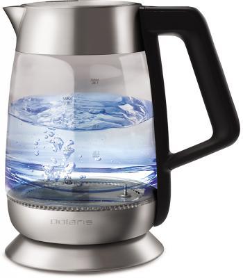 Чайник электрический Polaris PWK 1873CGLD 2200 Вт чёрный 1.8 л стекло
