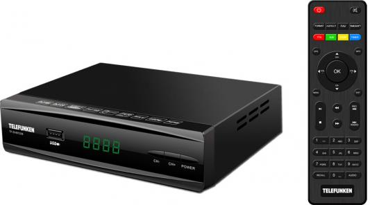 цена на Ресивер DVB-T2 Telefunken TF-DVBT228 черный