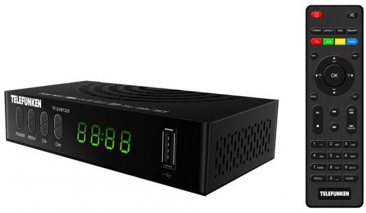 цена на Ресивер DVB-T2 Telefunken TF-DVBT229 черный