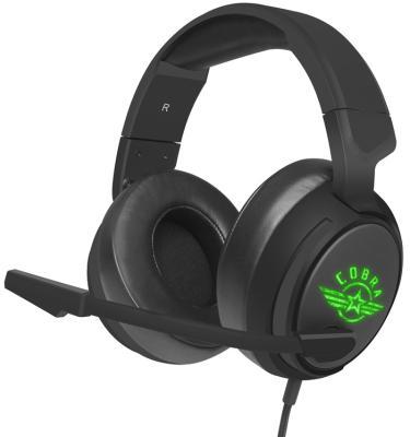 Игровая гарнитура проводная Oklick HS-L950G черный проводная гарнитура oklick hs s 210 черный