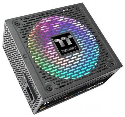 Блок питания ATX 850 Вт Thermaltake Toughpower iRGB PLUS 850W Gold PS-TPI-0850F3FDGE-1 цена и фото