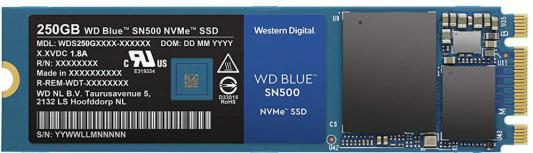 Накопитель SSD WD Original PCI-E x2 250Gb WDS250G1B0C Blue M.2 2280 цена и фото