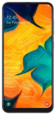 Смартфон Samsung Galaxy A30 64 Гб белый (SM-A305FZWOSER) смартфон samsung galaxy note 9 512 гб медный sm n960fznhser