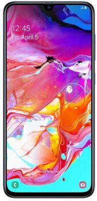 Смартфон Samsung Galaxy A70 128 Гб черный (SM-A705FZKMSER) смартфон samsung galaxy s10 128 гб перламутровый sm g975fzwdser