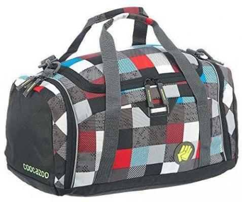 Сумка спортивная Универсальная Coocazoo SporterPorter Checkmate полиэстер разноцветный 00129903 цена
