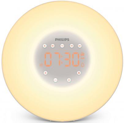 Радиобудильник Philips HF3505/70 белый