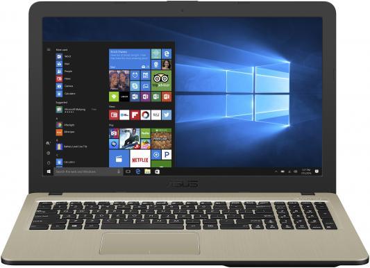 Ноутбук Asus VivoBook A540BP-DM096T A6 9225/4Gb/500Gb/AMD Radeon R5 M420 2Gb/15.6/FHD (1920x1080)/Windows 10/black/WiFi/BT/Cam цена