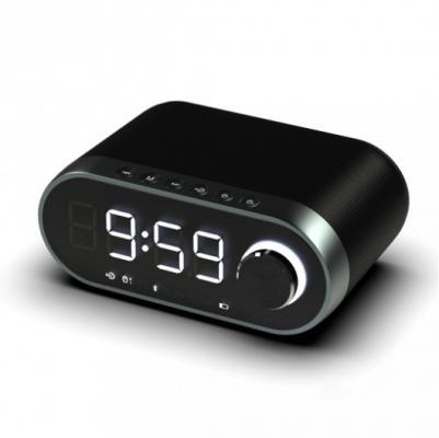 цена на Часы с радиоприёмником Ritmix RRC-959 чёрный
