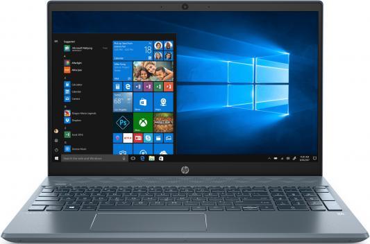 Ноутбук HP Pavilion 15-cs2001ur 15.6 1920x1080 Intel Core i3-8145U 128 Gb 4Gb Intel UHD Graphics 620 синий Windows 10 Home 6PS10EA ноутбук hp 15 da0406ur 15 6 1920x1080 intel core i3 7020u 128 gb 4gb intel hd graphics 620 черный windows 10 home 6px20ea