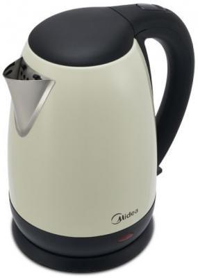 Чайник электрический Midea MK-8041 2200 Вт слоновая кость 1.7 л нержавеющая сталь