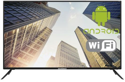 Телевизор LED 50 Soundmax SM-LED50M01SU Черный, SMART TV, Wi-Fi, ULTRA HD, DVB-T/DVB-T2/DVB-C, USB x 2, HDMI x 3