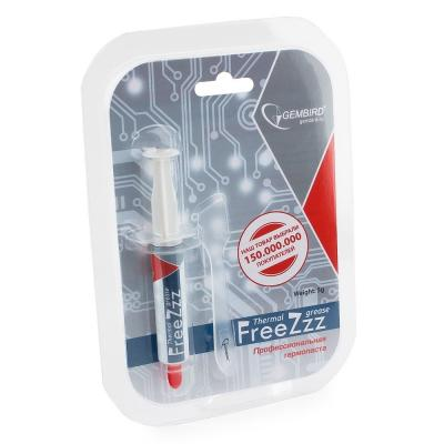 цена на Термопаста Gembird FreeZzz GF-01-5 для радиаторов, 5гр, шприц