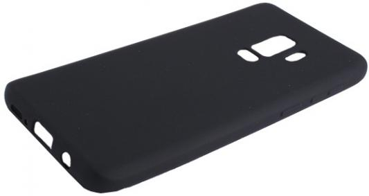 Чехол Deppa Case Silk для Samsung Galaxy S9+, черный металлик