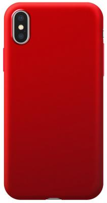 Накладка Deppa Silk для iPhone X iPhone XS красный 89042 цена и фото