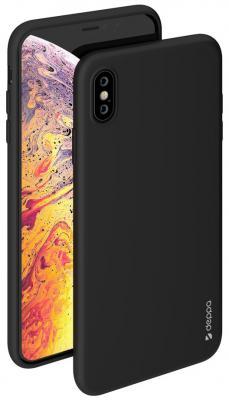 Накладка Deppa Gel Color для iPhone XS Max чёрный 85355 цена и фото