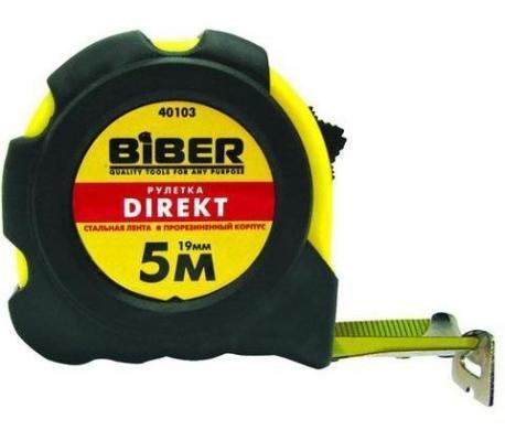Рулетка Biber 40103 5мx19мм