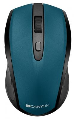 Фото - CANYON CNS-CMSW08G {2 in 1 Wireless optial mouse with 6 buttons, DPI 800/1200/1600, 2 mode(BT/ 2.4GHz), Green} canyon2 4ghz wireless optical mouse with 4 buttons dpi 800 1200 1600 1 additional cover penguin