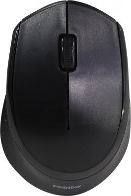 Мышь беспроводная Smartbuy ONE 333AG-K черная [SBM-333AG-K] smartbuy one 344cag white grey мышь беспроводная с usb зарядкой
