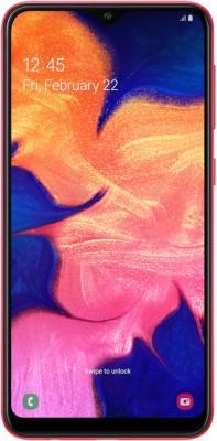 Смартфон Samsung Galaxy A10 32 Гб красный (SM-A105FZRGSER) смартфон samsung galaxy j6 32 гб серый