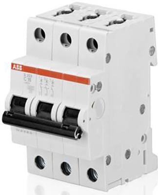 ABB 2CDS253001R0204 Автомат.выкл-ль 3-полюсной S203 C20 автомат abb s203 c20